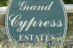 Grand Cypress Estates community sign